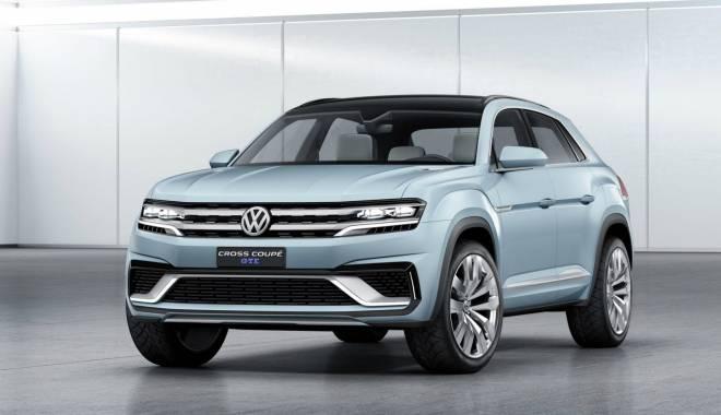 Foto: GALERIE FOTO. Cum arată noul Volkswagen crossover hibrid Cross Coupe GTE