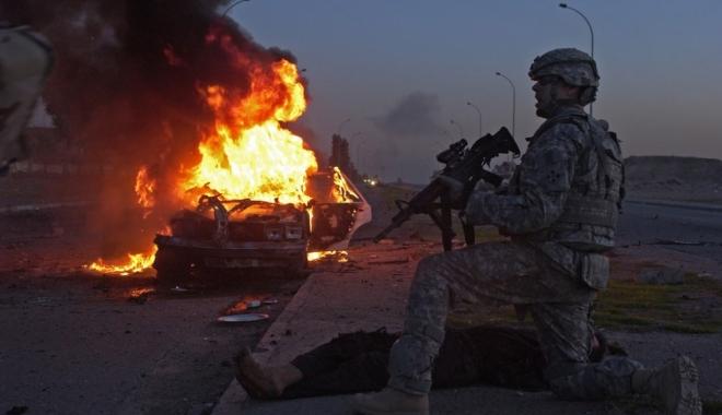 Foto: Statul Islamic revendică un atac asupra forțelor americane la vest de Mosul