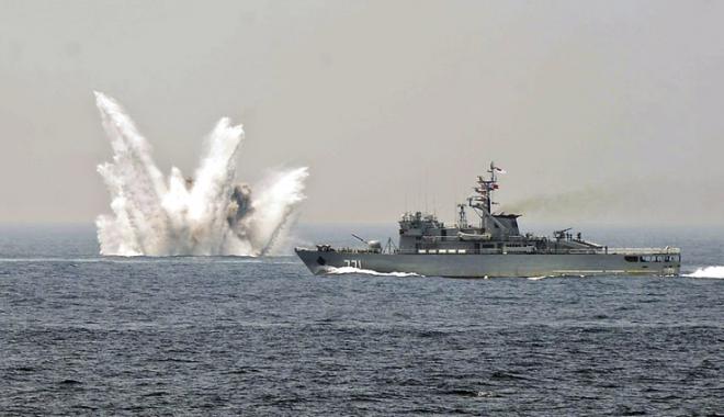 Foto: Week-end plin de acţiune în Marea Neagră