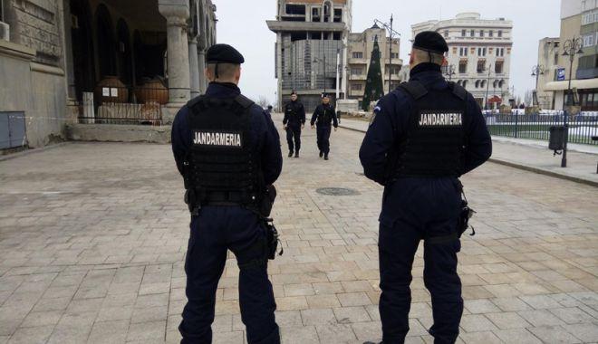 Foto: Jandarmii din Constanţa, la datorie! Măsurile de asigurare a ordinii publice pe timpul sărbătorilor Pascale