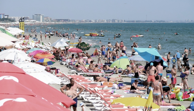 Foto: Vârf de sezon pe litoral, week-end-ul acesta