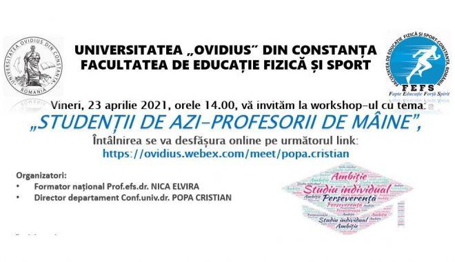 Workshopuri dedicate studenților, la Facultatea de Educație Fizică și Sport - work12-1618935767.jpg