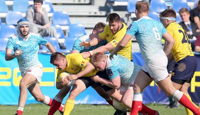 """Foto: World Rugby U20 Trophy, în toamnă, pe """"Arcul de Triumf"""""""