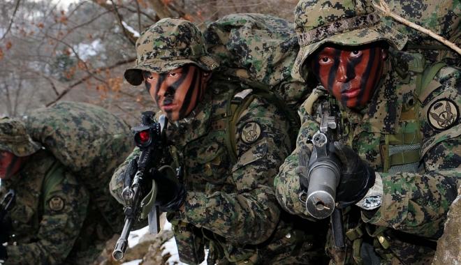 """Foto: Coreea de Sud înființează o """"unitate de decapitare"""" pentru a vâna liderii nordului"""