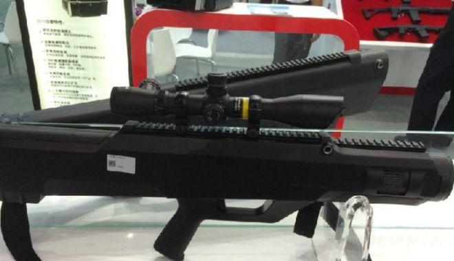 Foto: ZKZM-500, arma laser a Chinei care poate carboniza în câteva secunde o țintă