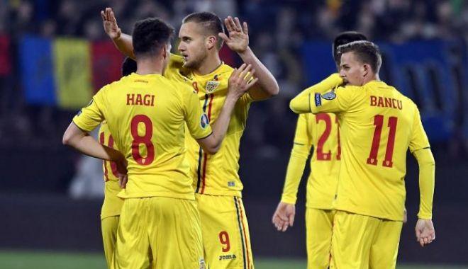 Foto: Fotbal: Malta - România 0-4, în preliminariile EURO 2020