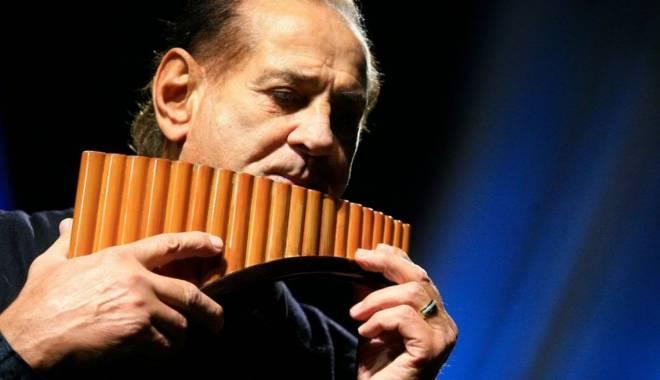 Foto: Concert Gheorghe Zamfir & Orchestra, la Constanţa