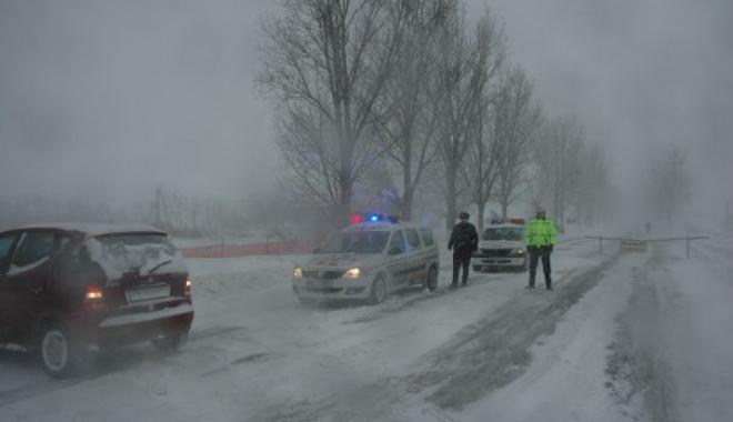 Foto: Atenție, șoferi! Restricții pe toate drumurile din județ. Iată ce sectoare au fost închise