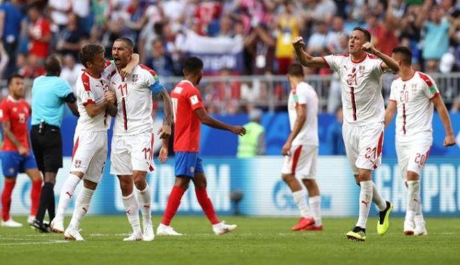 Foto: Costa Rica - Serbia 0-1, Grupa E. Super execuția căpitanului Kolarov a adus europenilor trei puncte