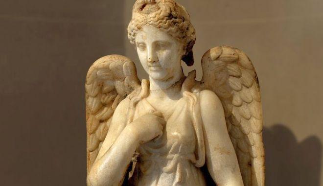 Foto: Zeița Nemesis, înfățișată în format 3D, la Muzeul de Istorie