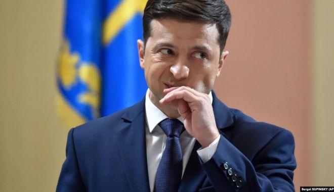 Ucraina: Zelenski, abia ales președinte, ar putea fi deja într-o relație tensionată cu Trump - zelenski-1558023388.jpg