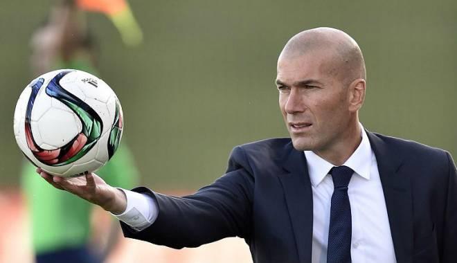 Foto: Zidane, debut de senzaţie ca antrenor
