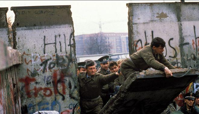 """Foto: """"Zidul Berlinului a fost o cicatrice pe fața Europei"""""""