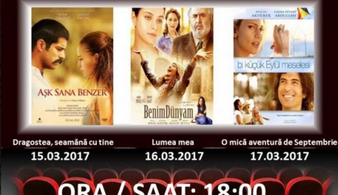 """Foto: """"Zilele filmului turcesc"""", la Casa de Cultură"""