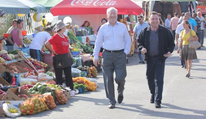 Foto: Nicolae Matei, lăudat de ministrul Culturii pentru felul în care arată Năvodariul