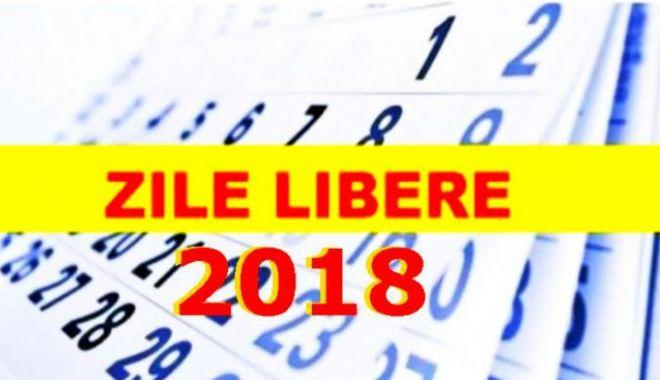 ZILE LIBERE 2018: Când se recuperează minivacanţa de Sfanta Maria şi când urmează o altă minivacanţă