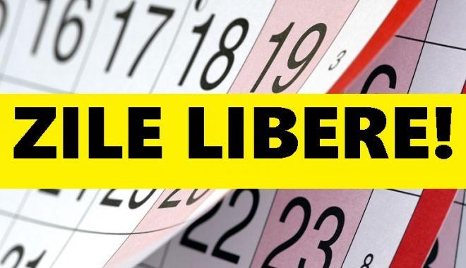 ZILE LIBERE 2018: Urmează o nouă minivacanţă pentru români