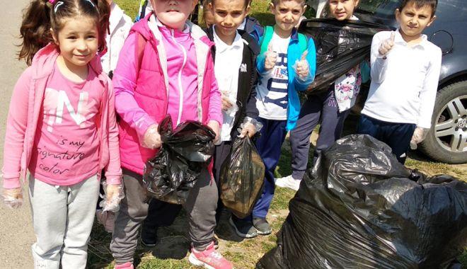 "Foto: Zile verzi, la Şcoala ""Grigore Moisil"" din Năvodari"