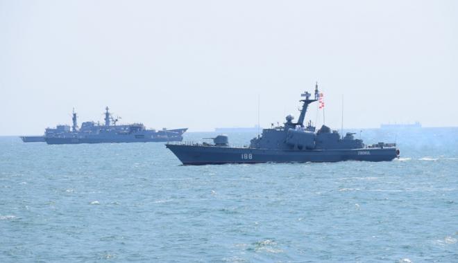 Foto: Ziua Dobrogei, marcată  de Forţele Navale Române