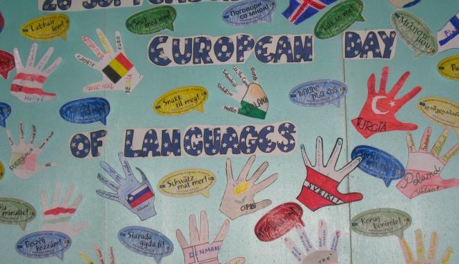 Foto: Ziua europeană a limbilor moderne, sărbătorită la Şcoala nr. 1 Mangalia