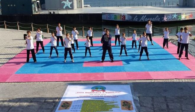 Foto: Ziua Mondială a Kung Fu, sărbătorită la Mangalia