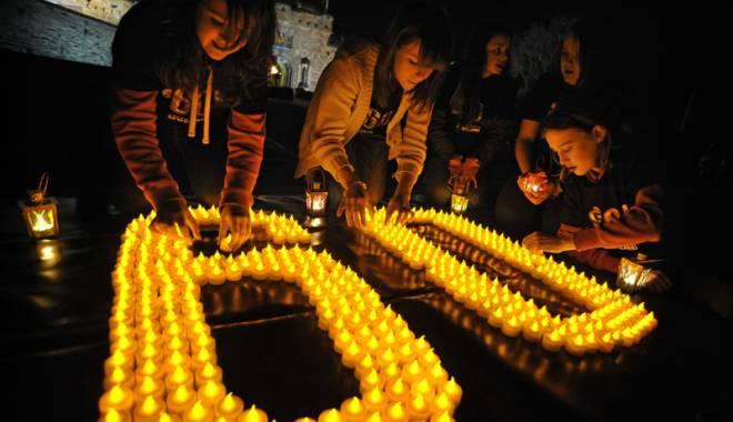 Foto: Ziua Pământului la Constanţa. Agenţia de Mediu stinge luminile