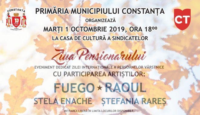 Foto: Eveniment de excepție pentru seniorii orașului Constanța