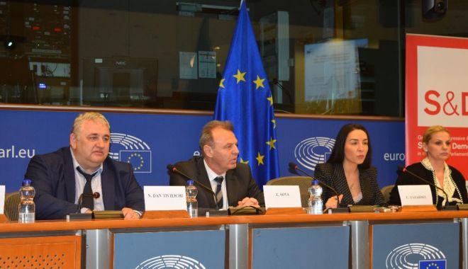 Foto: Ziua portului Constanța la Parlamentul European
