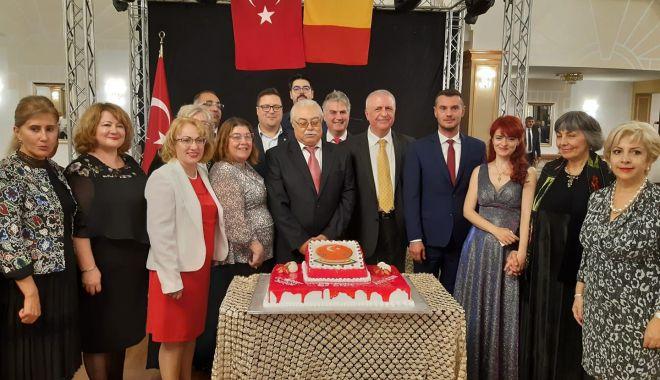 Foto: Ziua Națională a Turciei, marcată de Consulat, la Constanța
