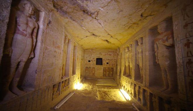 Foto: GALERIE FOTO / Primele imagini dintr-un mormânt vechi de 4.400 de ani descoperit recent în Egipt