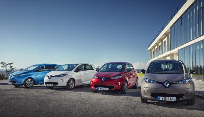 Foto: Renault lansează în România noul Zoe, automobilul electric cu o autonomie de 400 de km