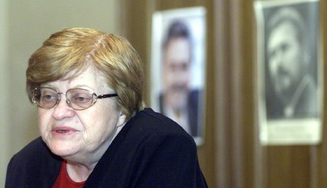 Foto: Doliu în lumea politică. A decedat fostul consilier prezidenţial Zoe Petre