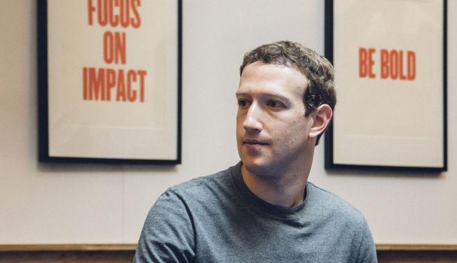 """Foto: Zuckerberg, audiat azi în Congresul american: """"Nu ne-am dat seama de cât de mari sunt responsabilităţile noastre"""""""