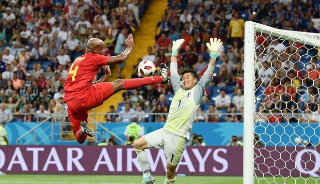 Foto: GALERIE FOTO / CM 2018. Belgia-Japonia 3-2. Belgienii, calificare obţinută în ultima secundă!
