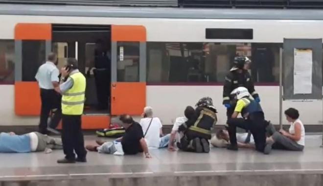 Foto: GRAV ACCIDENT DE TREN. SUNT ZECI DE VICTIME!