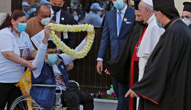 GALERIE FOTO / Cum a fost întâmpinat Papa Francisc în Irak - zyzoyxnopweyyzc5y2yxnjcyyjnjyzlh-1615018216.jpg