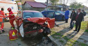 FOTO. Doi copii răniţi într-un accident, la Constanţa