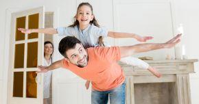 Copiii care petrec mai mult timp cu ta�ii lor au un IQ mai mare