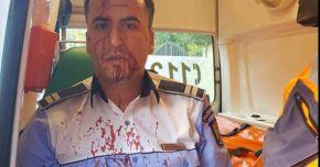CLIPE TERIBILE ÎN TRAFIC! Poliţist de la Rutieră, BĂTUT MĂR de un șofer