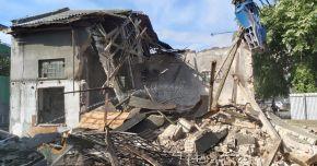 Galerie foto. Clădirile vechi din curtea Spitalului de Boli Infecţioase, demolate