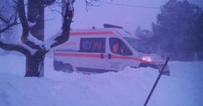 Două gravide aduse cu ambulanţa la spital