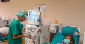 Pacienţii care fac dializă, internaţi în Spitalul Judeţean