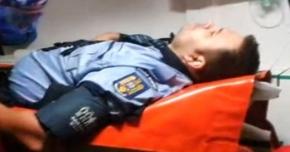 POLIŢIŞTI DIN CONSTANŢA, BĂTUŢI CHIAR ÎN FAŢA SEDIULUI! INDIVIZI BEŢI AU URINAT PE MAŞINA DE POLIŢIE, DUPĂ CARE AU UMILIT-O PE SOŢIA ŞEFULUI DE POST