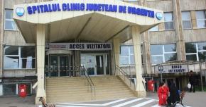 �coala de var�, g�zduit�  la Spitalul Jude�ean