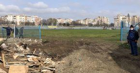 """Scenele din filme devin realitate, la Constanța. Spital militar modular pe stadionul """"Portul"""""""