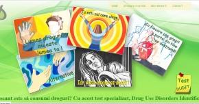 Test de evaluare on-line adresat persoanelor consumatoare de droguri