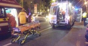 ACCIDENT RUTIER ÎN MAMAIA. SUNT DOUĂ VICTIME! Şoferul a fugit de la locul faptei - Galerie foto