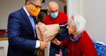 Seniorii constănţeni, premiați la domiciliu