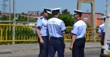 Elevi din Constanţa, faţă în faţă cu poliţiştii