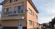 FABRICA DE ULEI DIN MEDGIDIA, CUPRINSĂ DE FLĂCĂRI. Intervin pompierii